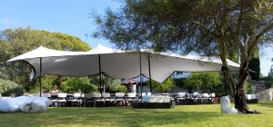 Stretched Tent 20 up to 400 guests