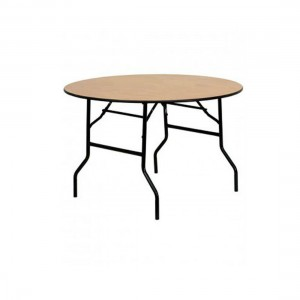 4ft Round table seating 6 to 7 guests