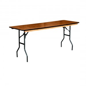 Trestle table for drinks food or head table seating 6 guests